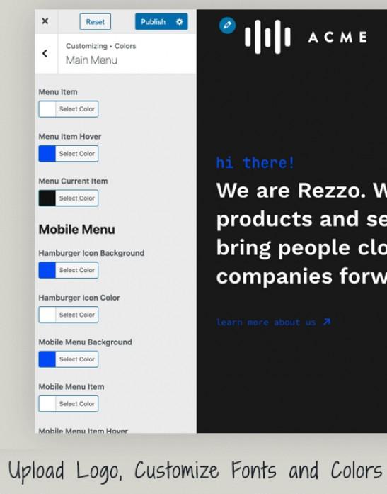 rezzo-customize-options
