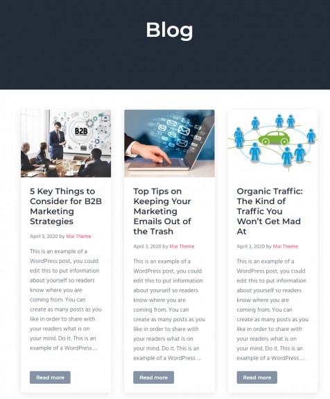 Blog Archive page - Mai Success
