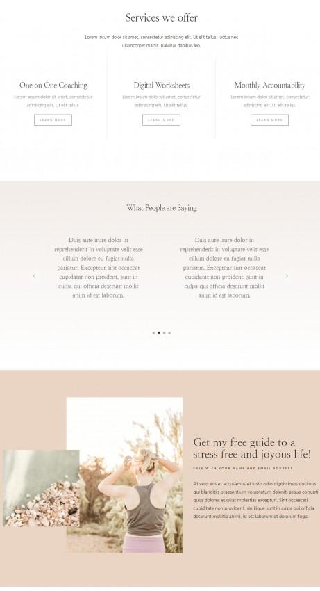 Elizabeth Homepage