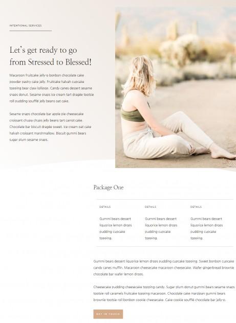 ElizabethService Page