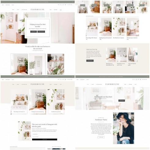 Homepage Layouts - Farmhouse
