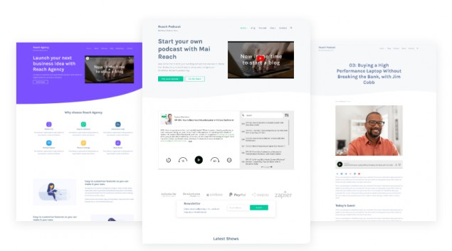 Mai Reach Demo - StudioPress Genesis WordPress Theme for Business Agencies