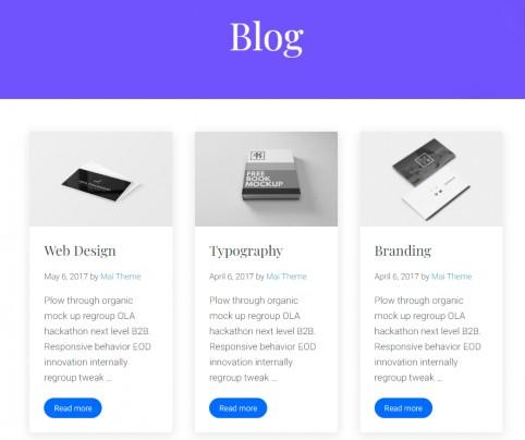 Mai Studio Blog