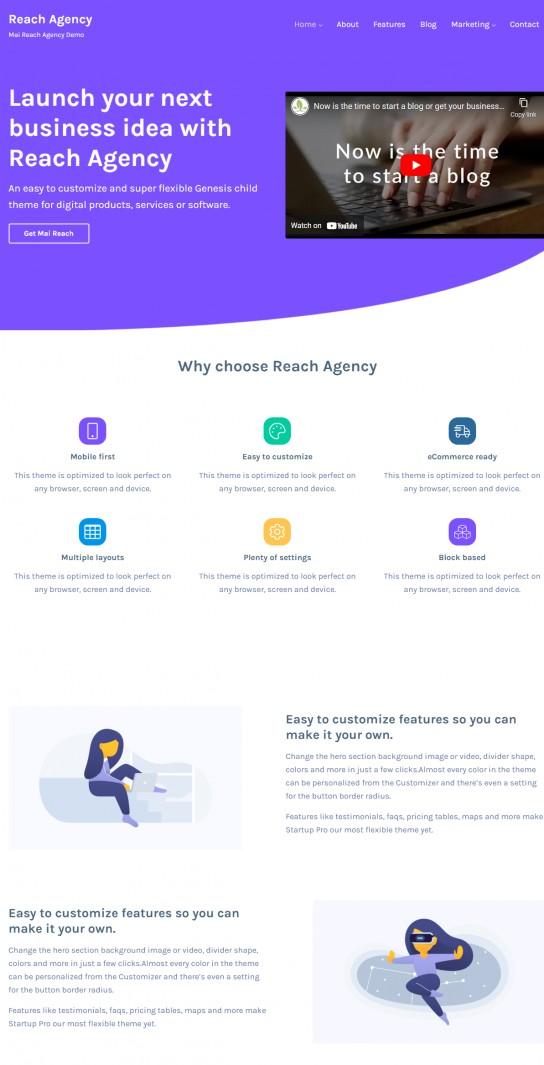 Reach Agency - StudioPress