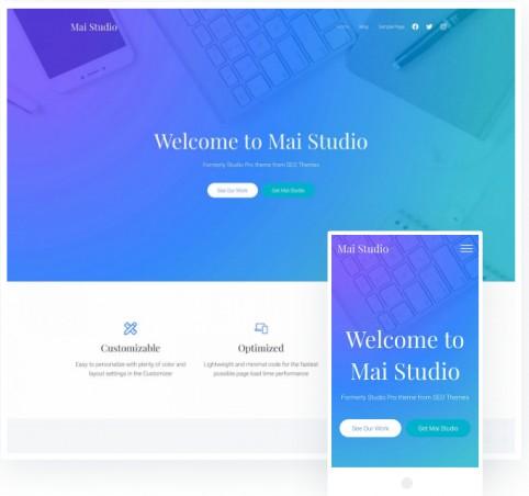 Responsive Business Theme - Mai Studio