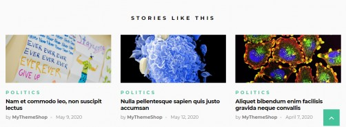 Related Posts - Science Medical Theme