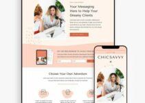 Bluchic ChicSavvy – WordPress Theme for Entrepreneurs & Coaches