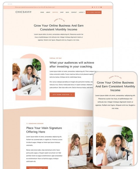 chicsavvy-responsive-feminine-theme-services